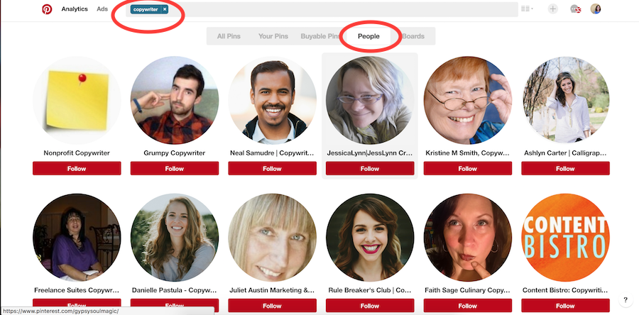 Search Results For Copywriters On Pinterest