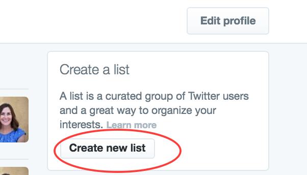 Create A List Button