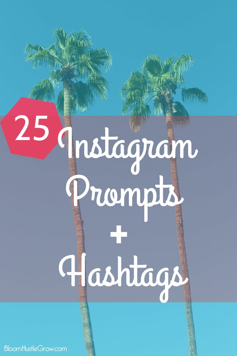25 Business Friendly Instagram Prompts with Hashtags