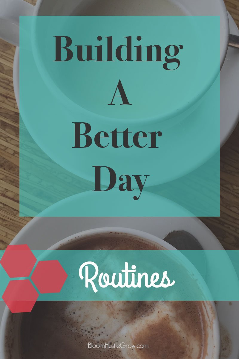 As part of Building A Better Day I've talked about how I schedule out my day and how I schedule out my week, now let's get down to those recurring tasks that happen everyday or weekly. Plus a free printable habit tracker.