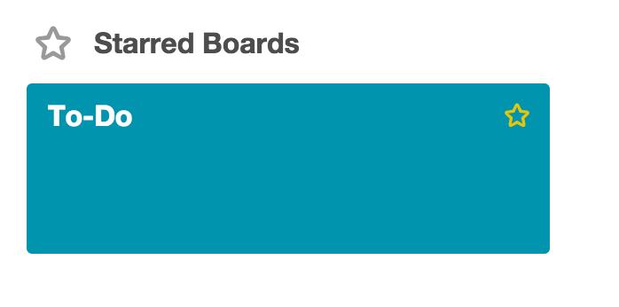 Utilizing Trello To-Do Board