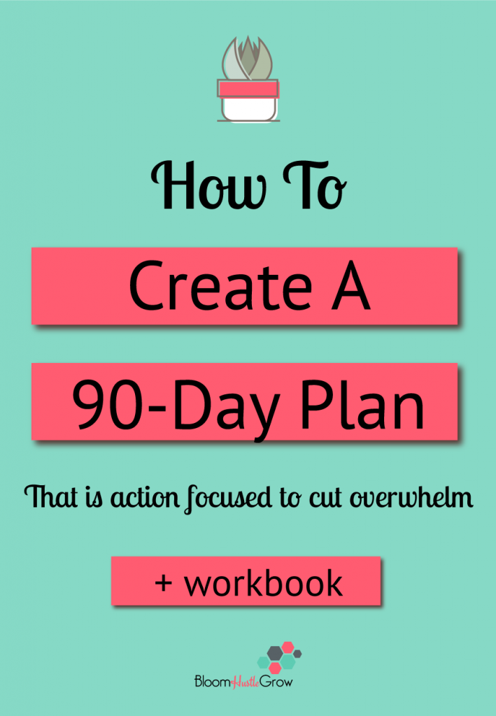 The 90 Day Focused Action Plan for Entrepreneurs. Get focused for the next 90 days in your business.
