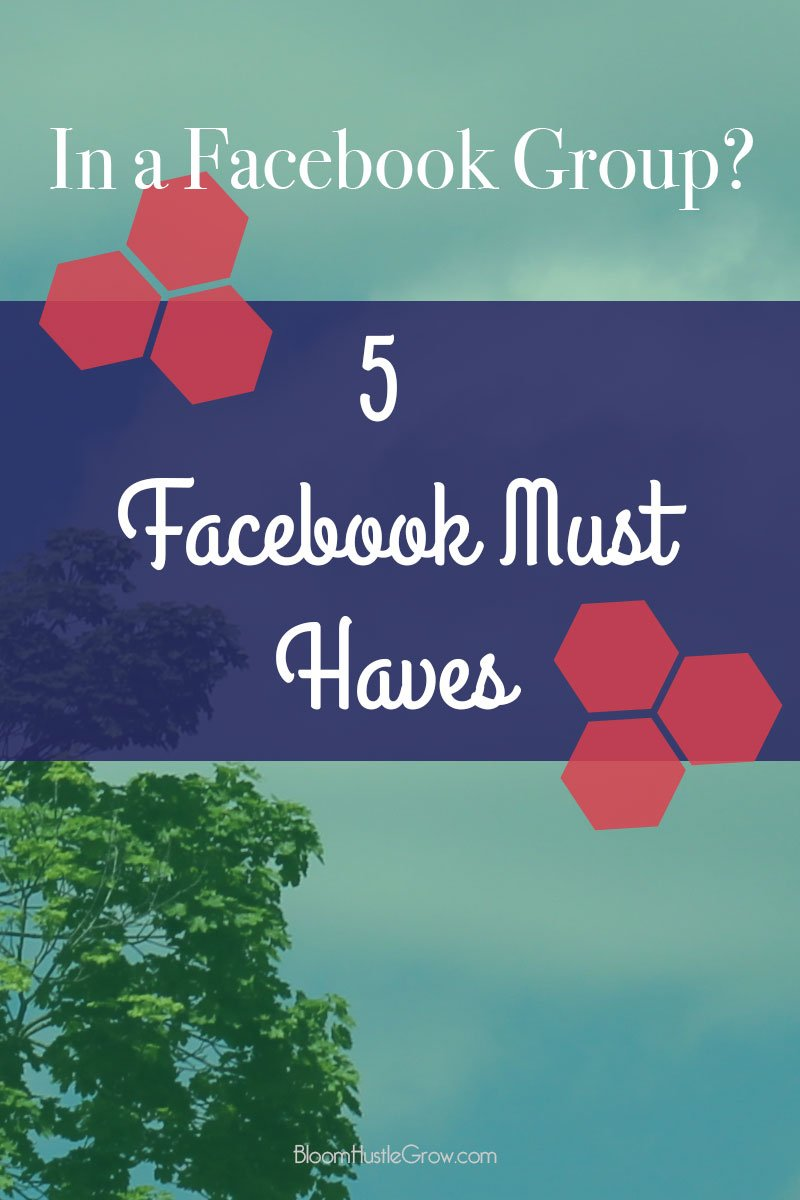 If you are in a Facebook Group, these are the 5 Facebook elements you must have to make sure you are not missing out on connections.