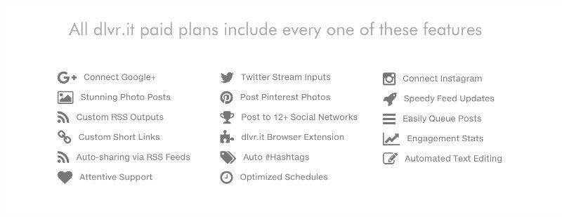 DLVR Social Media Scheduler Offering