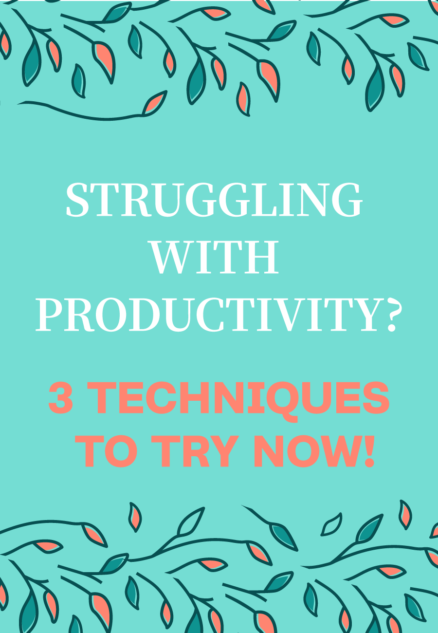3 Productivity Techniques For Solopreneurs