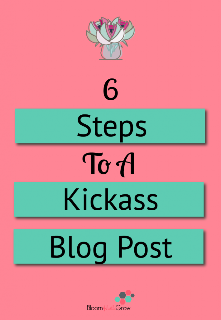 6 key components to any blog post. Start with these components to start getting your blog process in order.