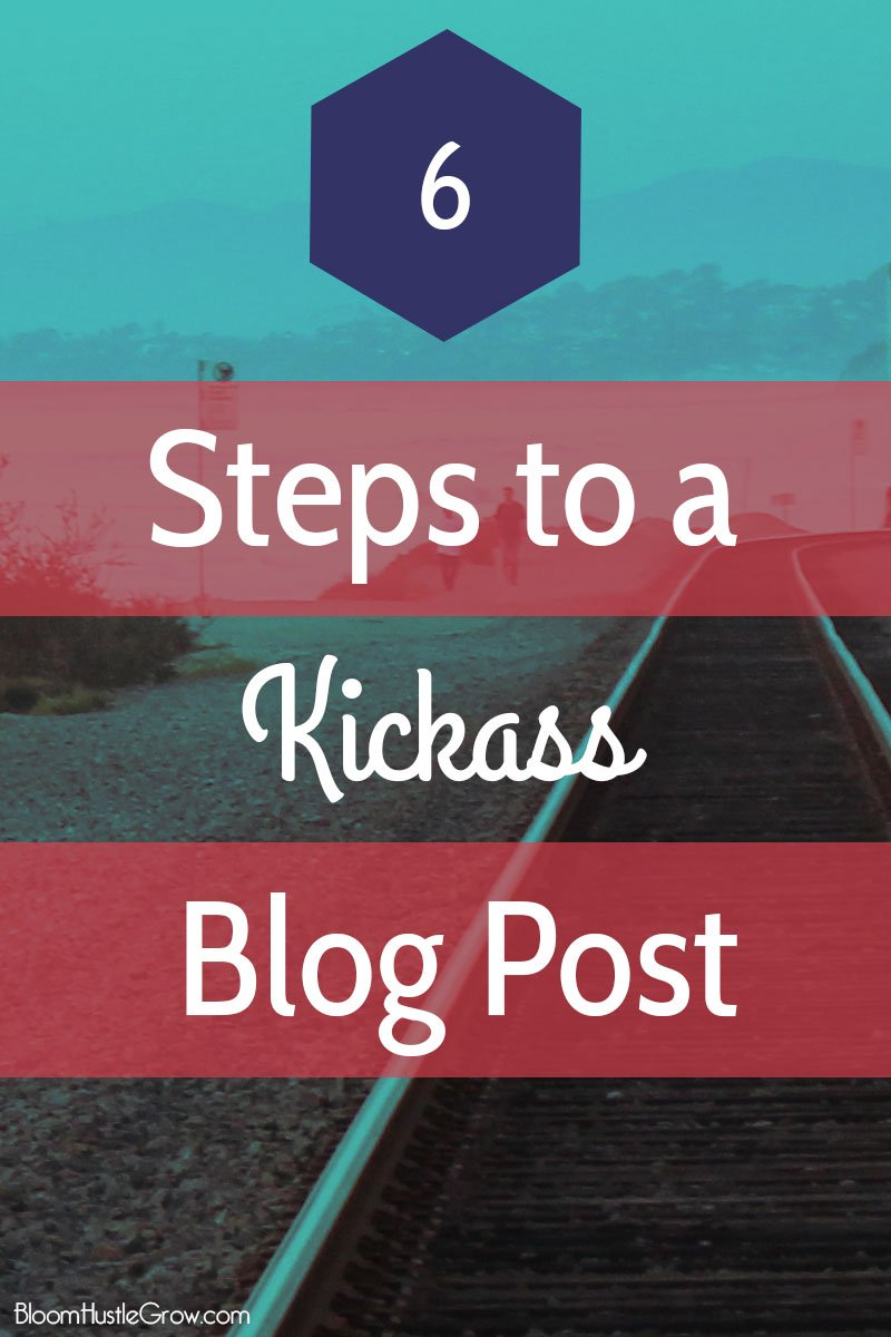 6 key components to any blog post. Start with these components to get your blog process in order.