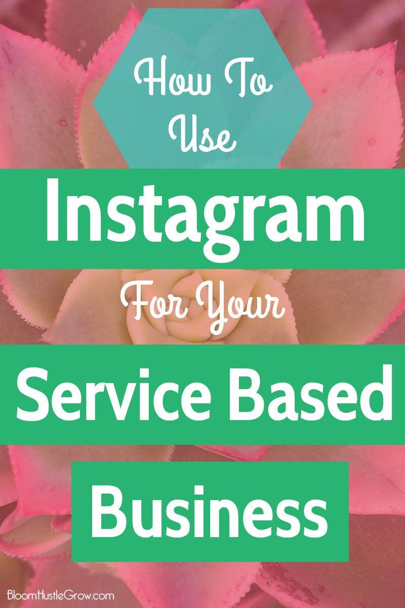 Tips on how to use Instagram for your service based business. Plus examples of how other service based businesses are rocking Instagram to connect with their audience and get clients.