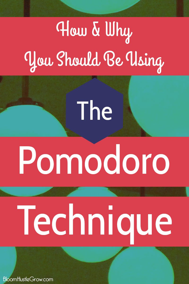 The Pomodoro Technique: How & Why You Should Start Using it NOW.