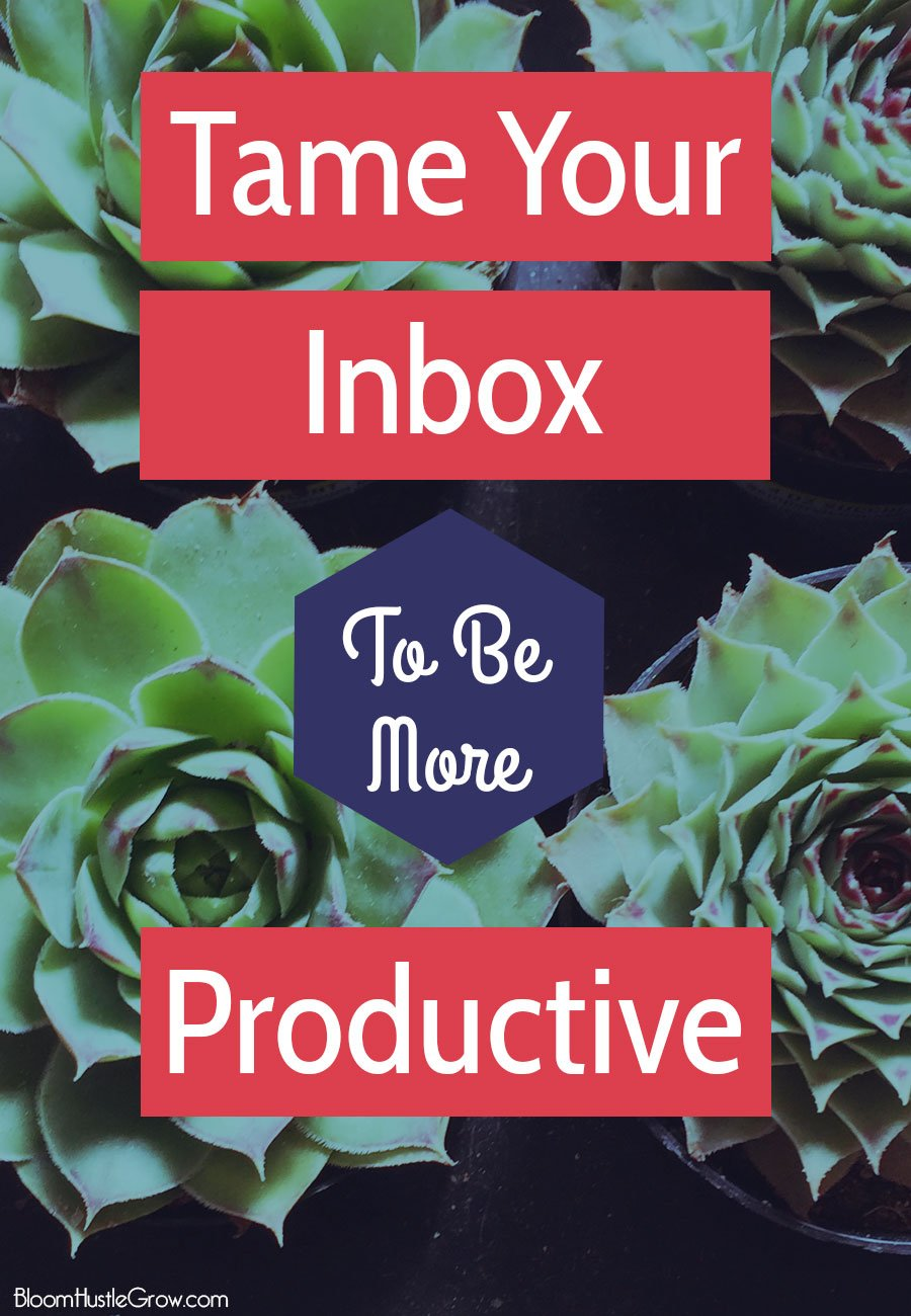 Tame Your Inbox To Be More Productive. Your email inbox can be a powerful or time sucking black hole. Use these simple steps to make sure it's the former.
