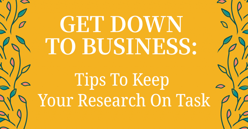 How To Research To Get Shit Done In Your Business: Beat Information Overload