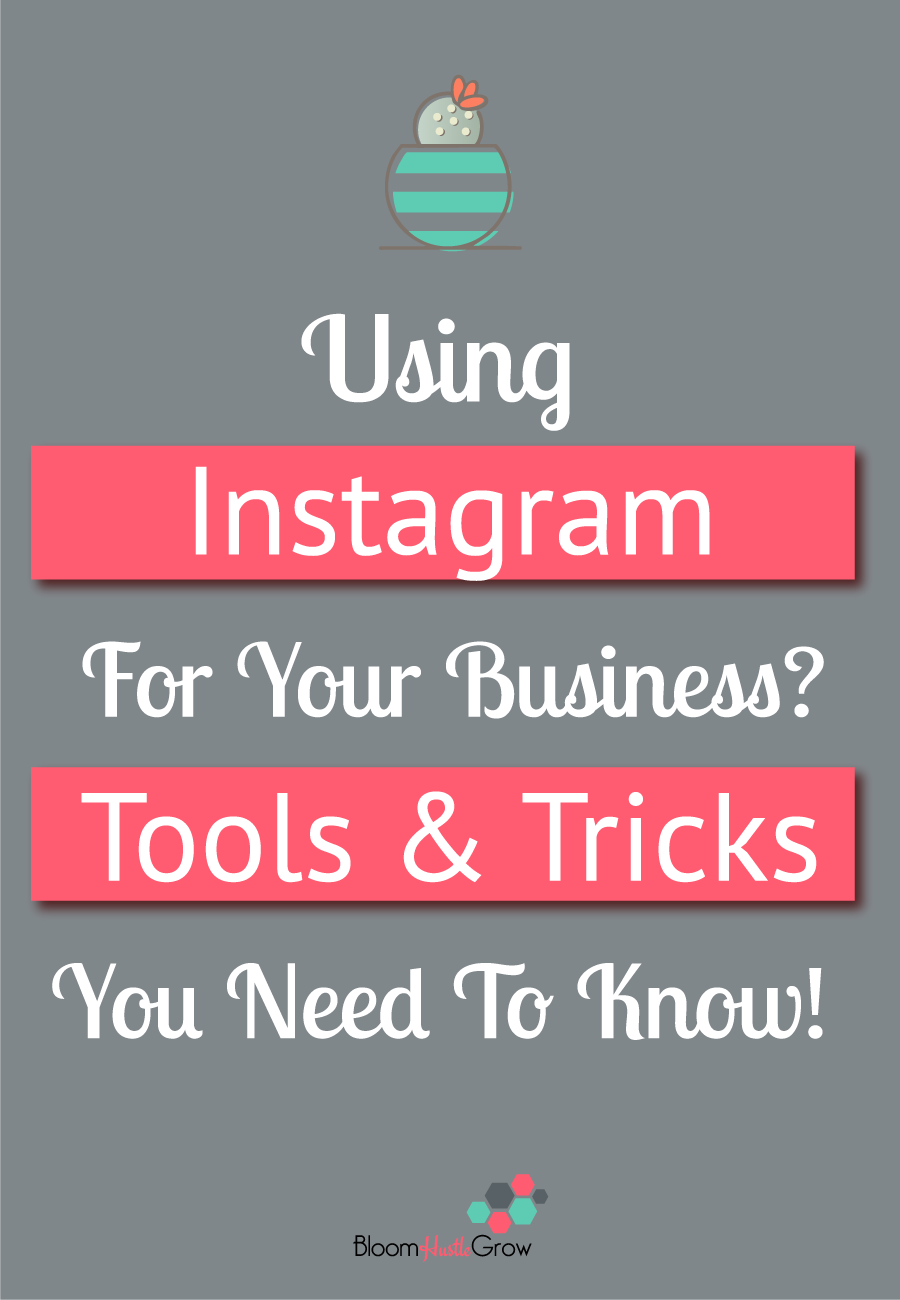 Tools & Tricks you need to know about if you are using Instagram for your business. Make using Instagram easier.
