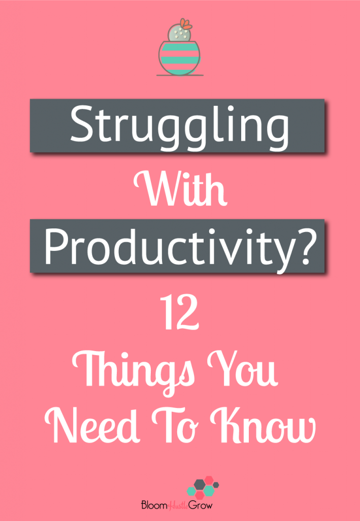 12 Productivity Truths All Entrepreneurs Should Embrace. #Entrepreneur #Productivity