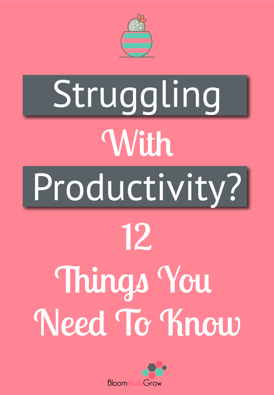 12 Productivity Truths All Entrepreneurs Should Embrace. #Entrepreneur #Productivity