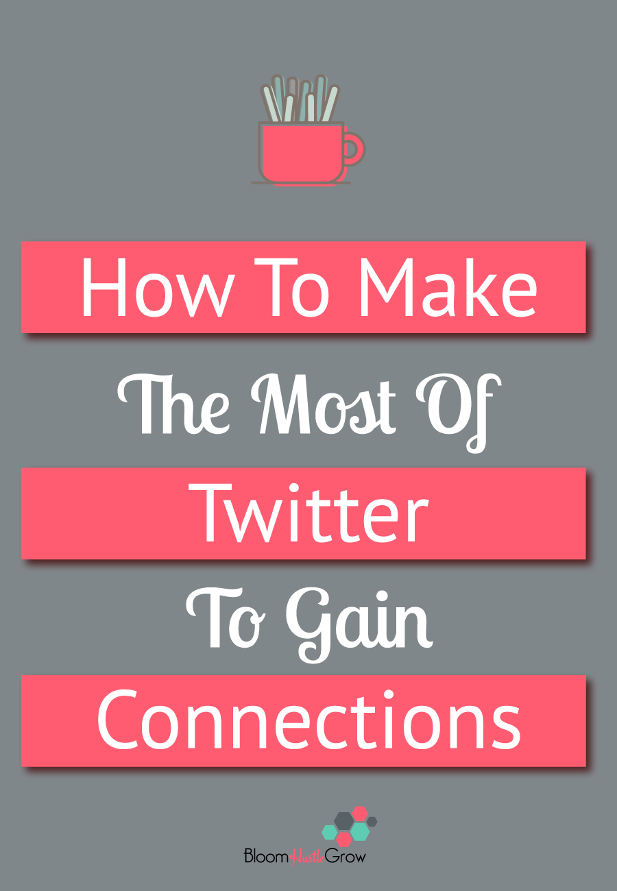 How to Make The Most of Twitter To Gain Connections: While Twitter might seem too fast paced to make connections, but really the fast paced nature makes it easy to gain new contacts.