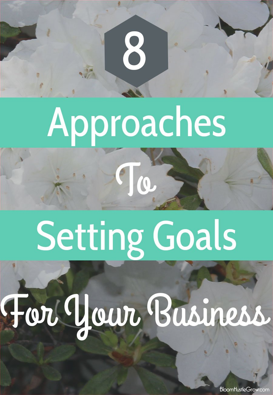 Setting goals for your business give you direction for growth. Here are 8 approaches to use to get your started with setting your own goals.