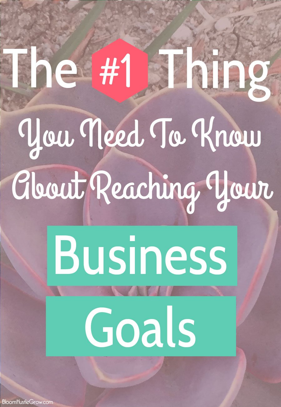 The #1 Thing You Need To Know About Reaching Your Business Goals