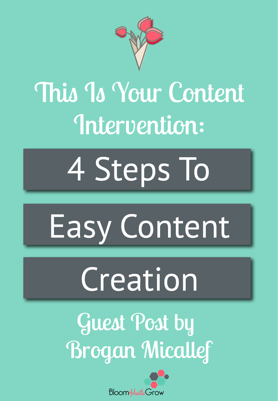 4 Steps To Easy Content Creation