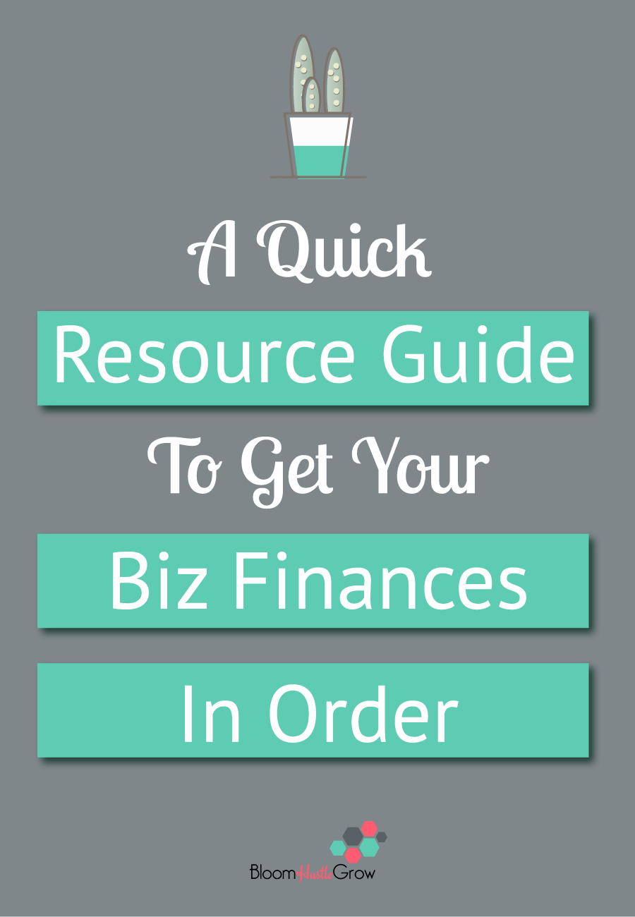 A Quick Guide Of Resources To Get Your Biz Finances In Order