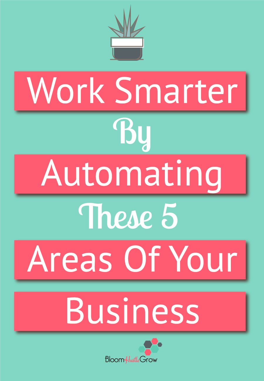 5 Ways To Automate Your Business. #worksmarter