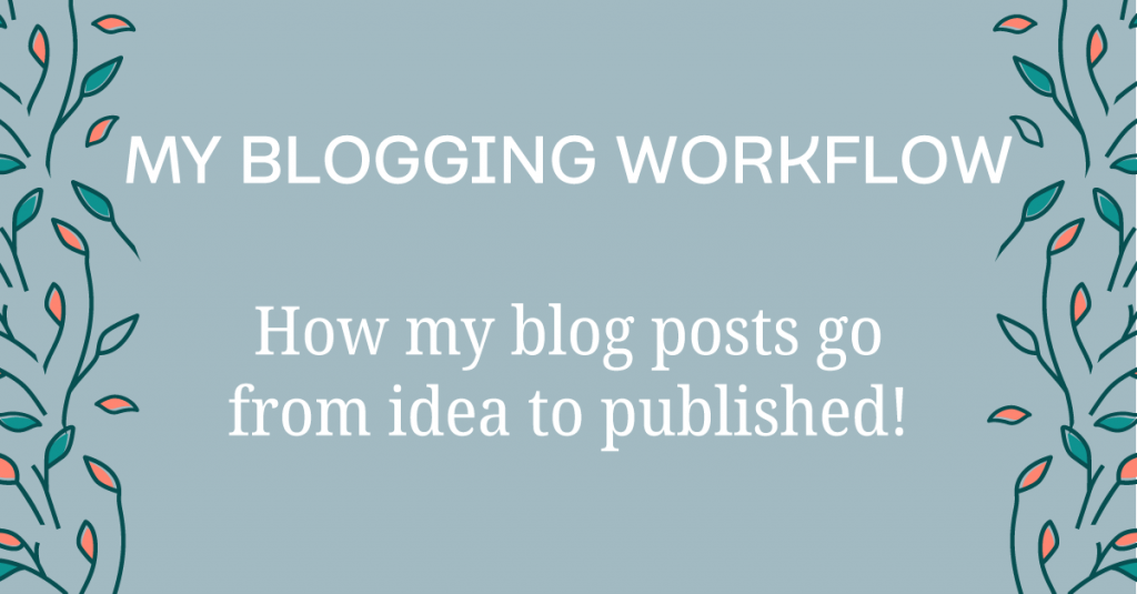 My exact blog posting process including tools used
