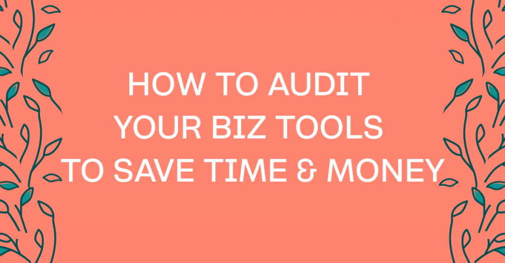 How and why to do a business tools audit.