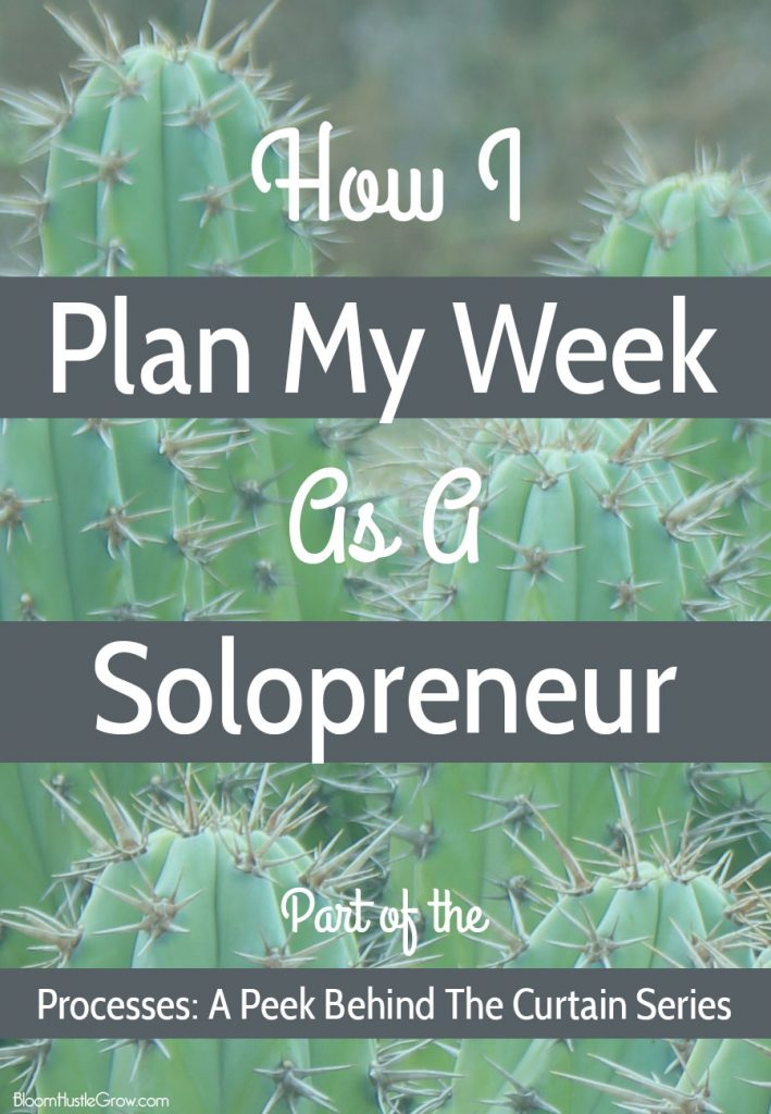 My Weekly Planning Process As A Solopreneur