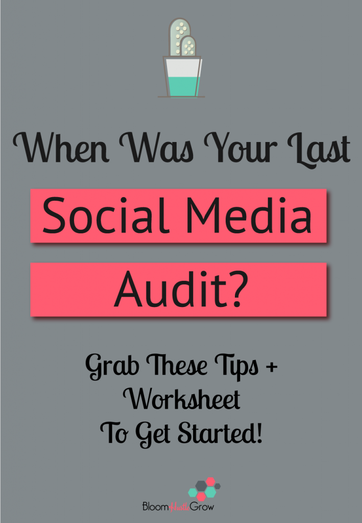 When Was Your Last Social Media Audit?
