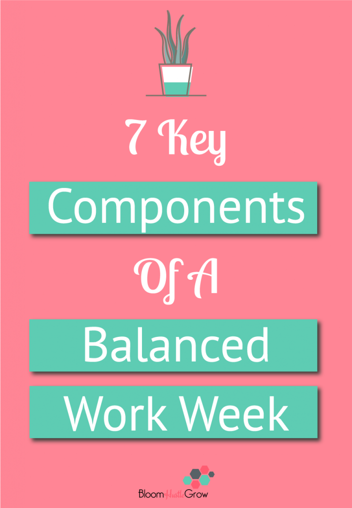 7 Key Things Every Business Owner Needs In Their Week