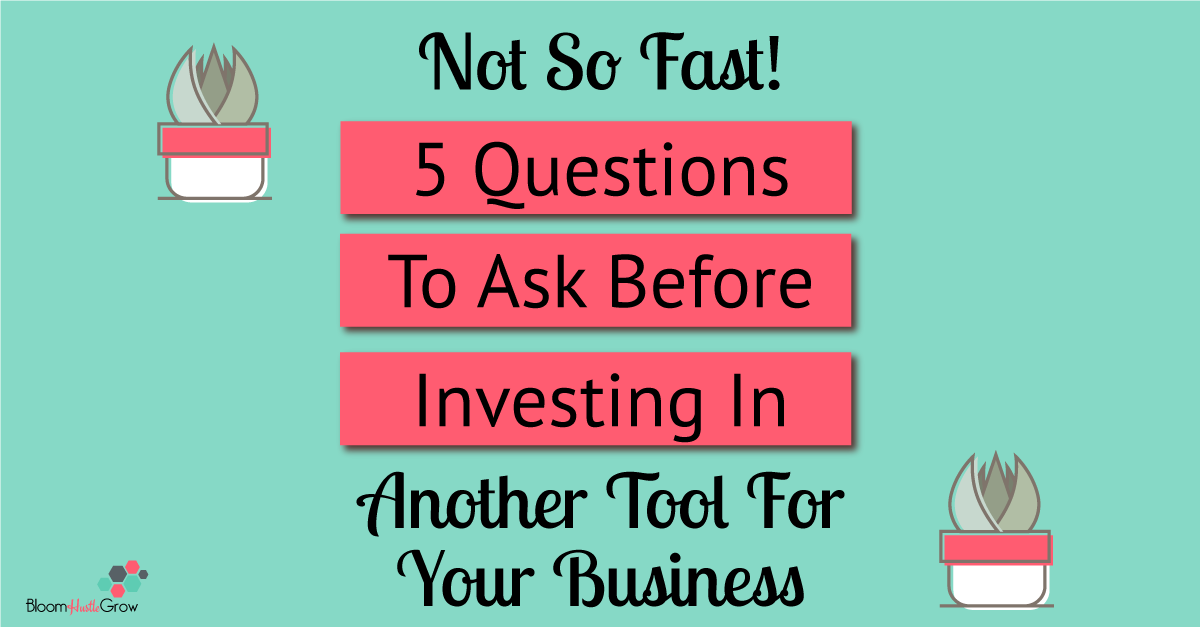 Investing In Tools For Your Business: What You Should Be