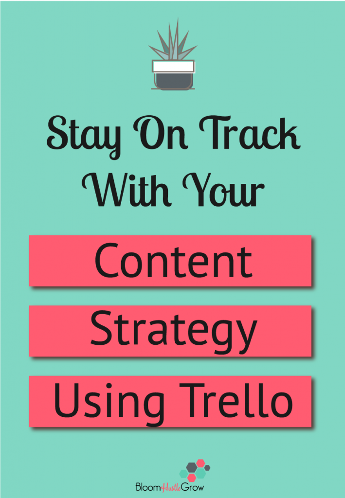 Stay On Track With Your Content Strategy Using Trello. #contentmarketing #marketing #businesstools #businesstips #trello