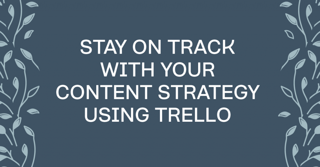 How to use Trello to manage your editorial calendar #contentmarketing #marketing #businesstools #businesstips #trello