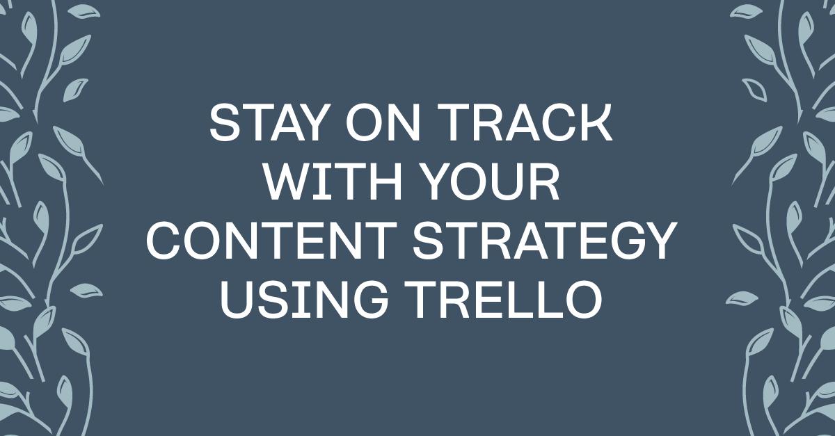 How to use Trello to manage your editorial calendar #contentmarketing #marketing #businesstools #businesstips #trello