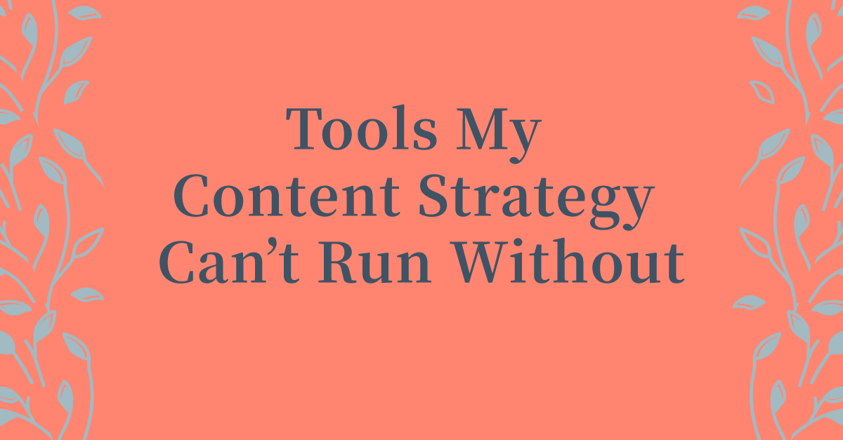 Starting A Content Strategy? You're Going To Need These Tools. #businesstools #businesstips #business101 #startingabusiness #contentmarketing