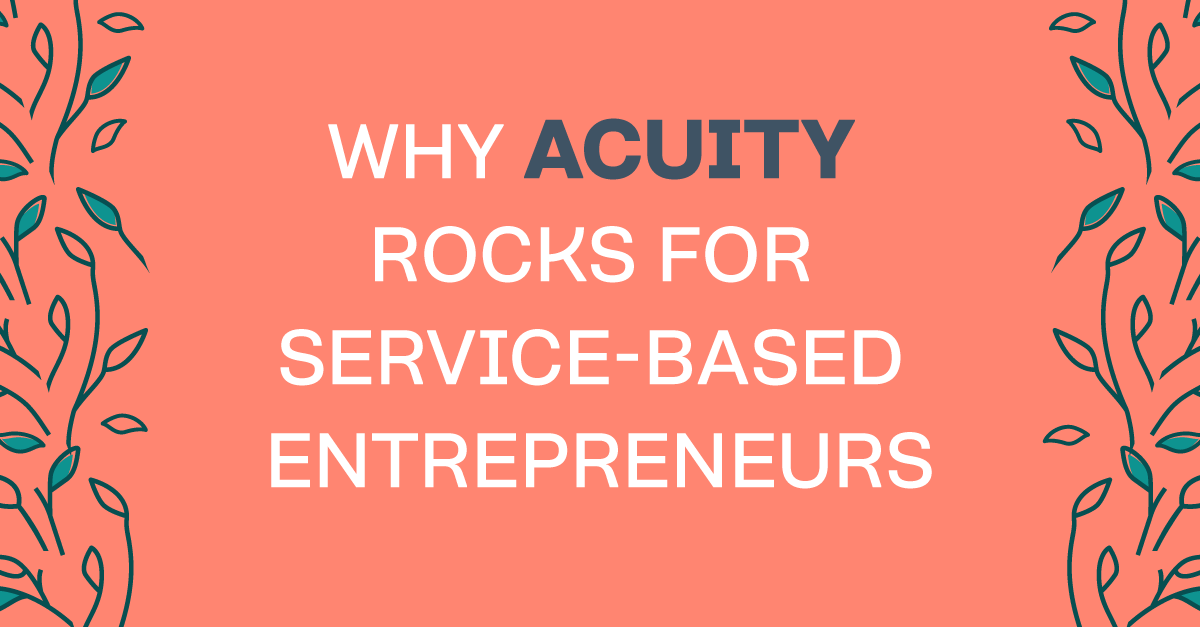 Why Acuity is such a smart scheduling tool for service-based entrepreneurs. #toolsofthetrade #businesstools #businesstips #business101 #bloomhustlegrow