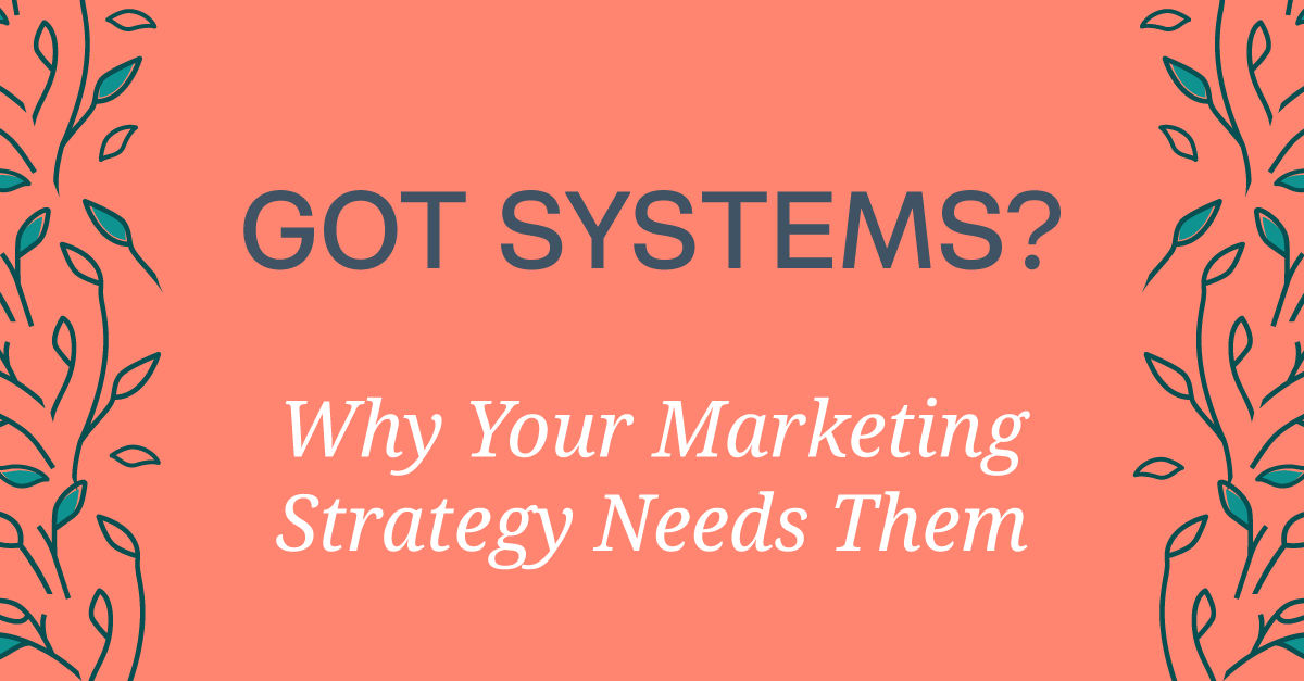 Why All Marketing Strategies Need Systems To Be Successful #bloomhustlegrow #marketing #marketingstrategy