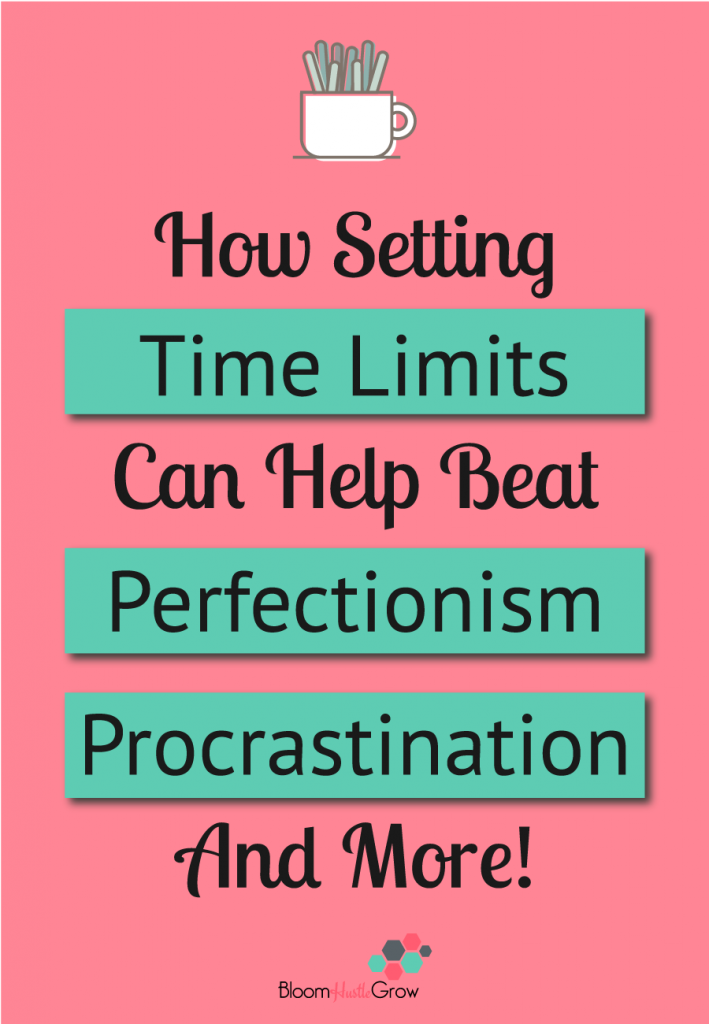Discover the power of how setting time limits can boost your productivity #bloomhustlegrow #productivitytips #timemanagement