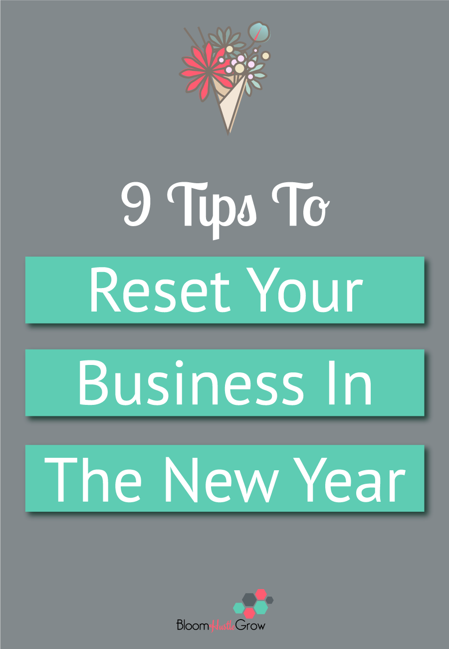 9 tips to get your business off on the right foot in the new year. Get your business organized. #business101 #businesstips #solopreneur #creativeentreprenurs