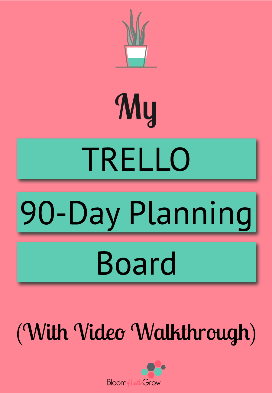 How I Use Trello To Do My 90-Day Planning. Trello keeps my business on track and my plan in action