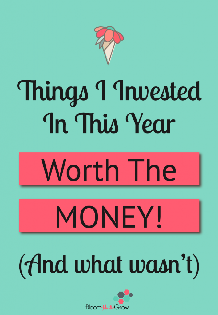 My Good (and not so good) Business Investments Of 2018 #solopreneur #onlinebusiness #business101