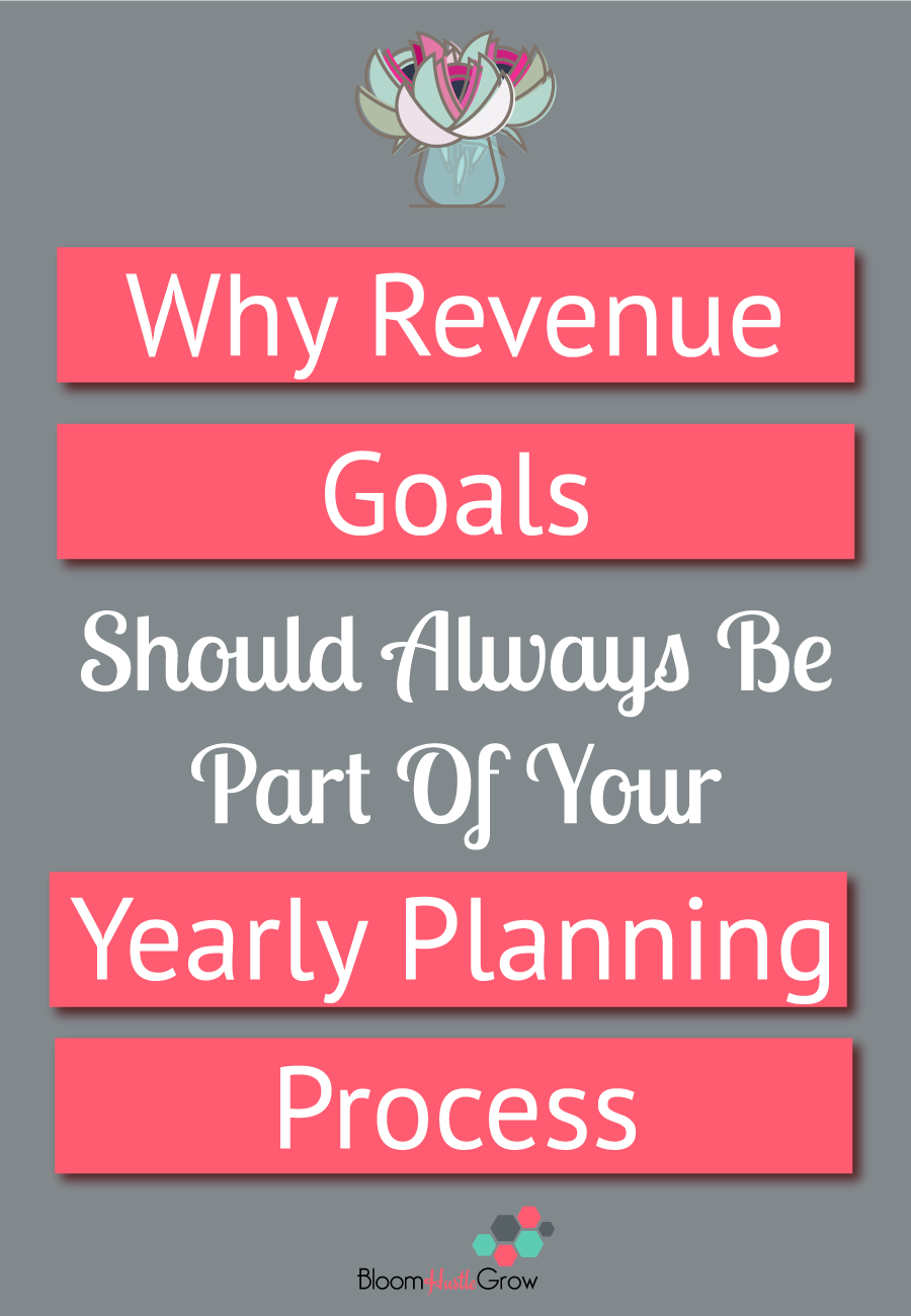 Why Your Yearly Business Planning Should Start With Revenue Goals #goalsetting #businessplan #planning