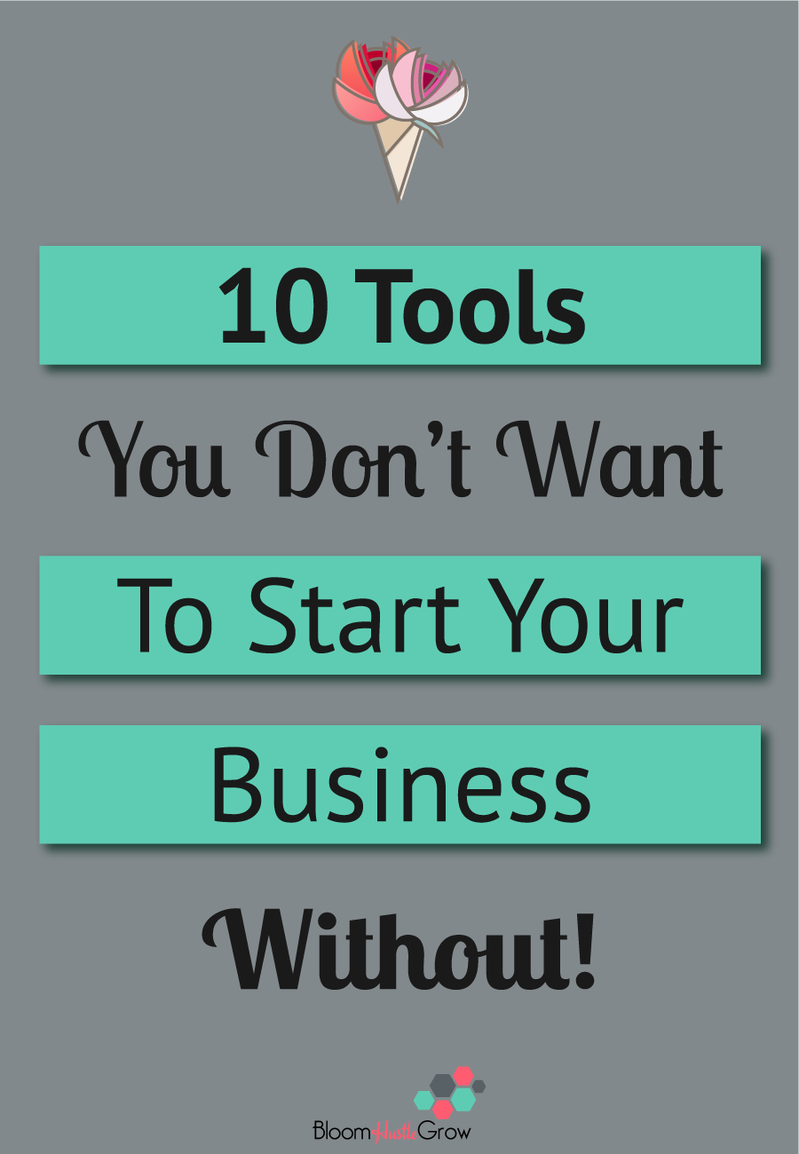 10 tools you need to get your service-based business started #business101 #workfromhome #biztools