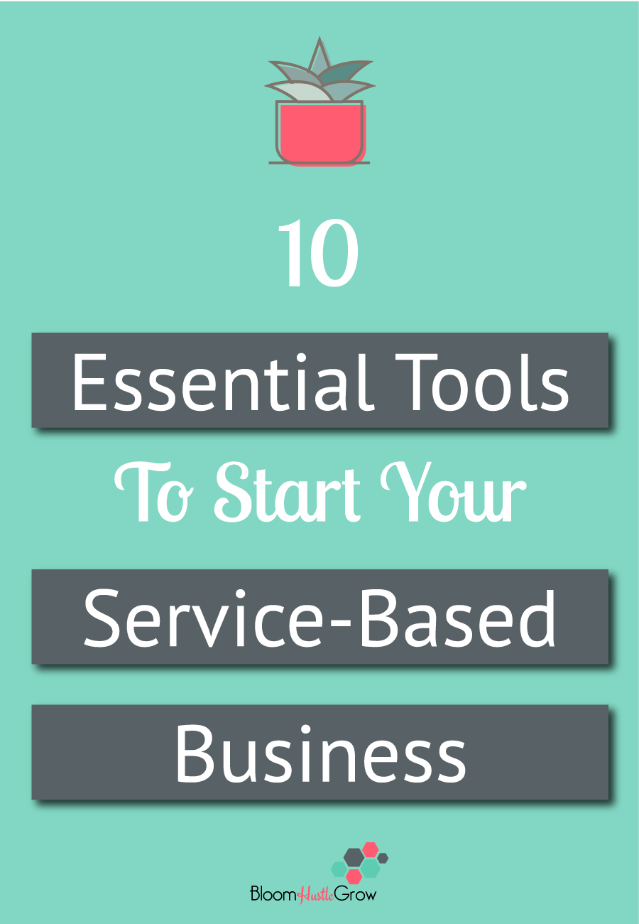 10 essential tools to start your service-based business #solopreneur #biztools #businessoperations